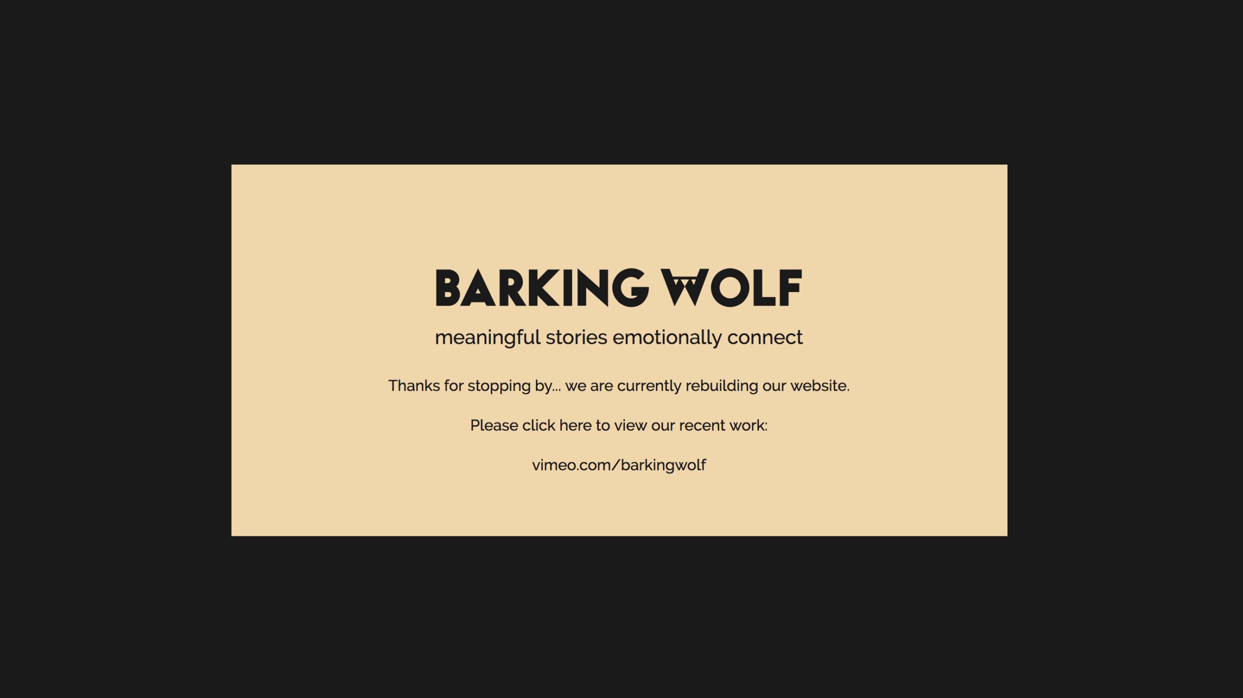 Barking-Wolf