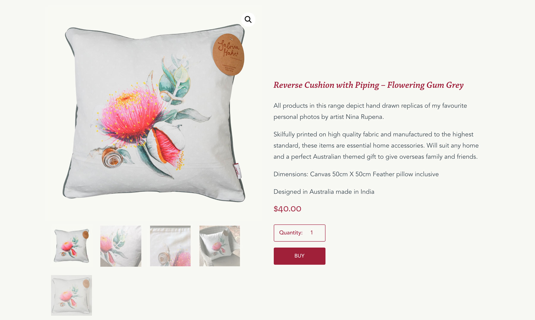 Reverse-Cushion-with-Piping-–-Flowering-Gum-Grey-–-Sabrina-Hahn-–-Hort-with-Heart-WEB