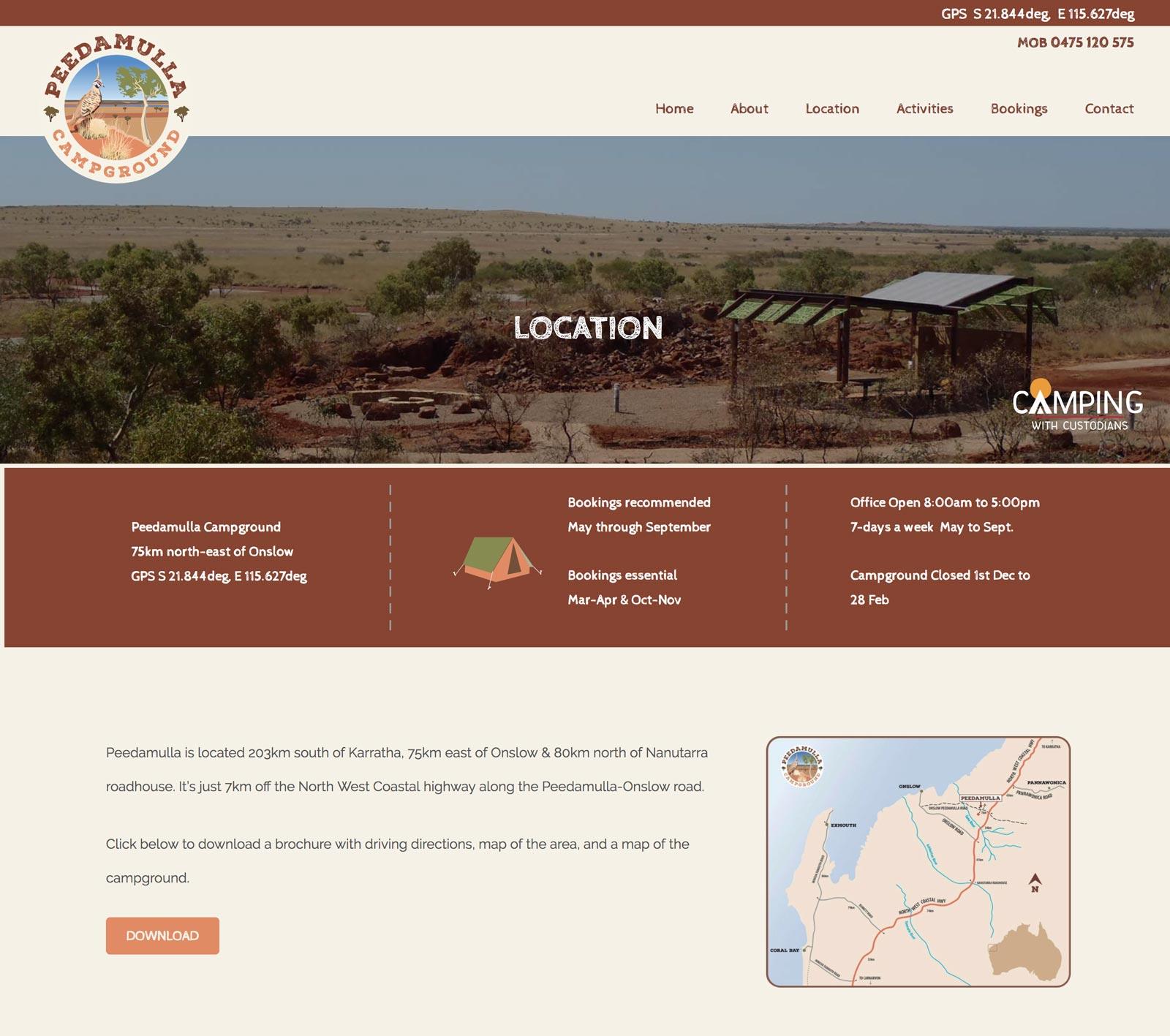 peedamulla.com.au-location-web