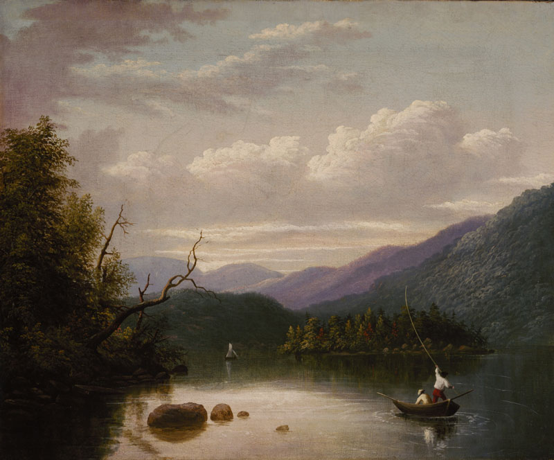 Thomas Doughty, In the Adirondaks, c. 1822-30. Terra Foundation for American Art, Daniel J. Terra Collection.