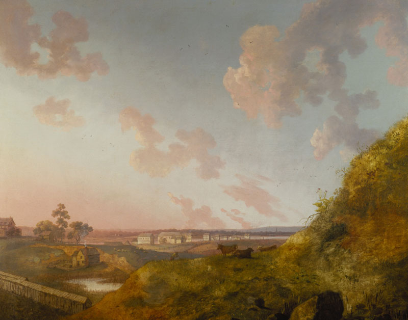 William Groombridge, View of a Manor House on the Harlem River, 1793. Terra Foundation for American Art, Daniel J. Terra Collection.